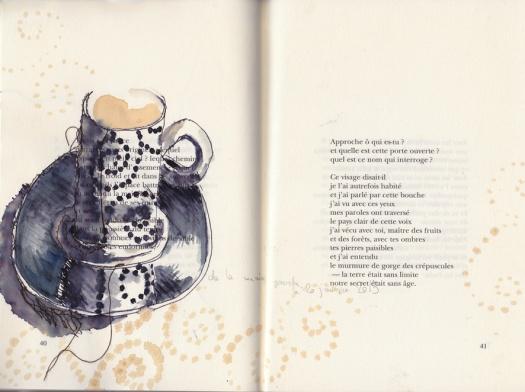 journal des cafés, irene tetaz, main gauche