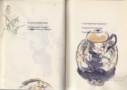 irene tetaz, journal des cafés, main gauche