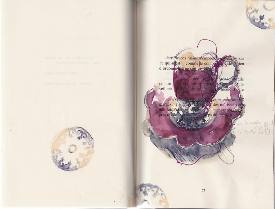journal des cafés, main gauche
