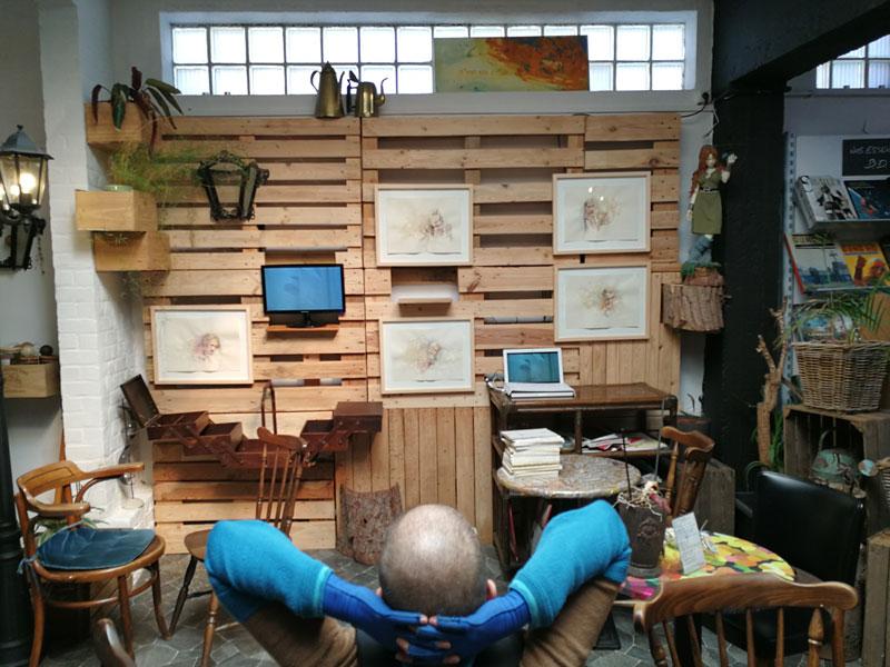 irene tétaz, libraire jaune, photo arnaud GHYS